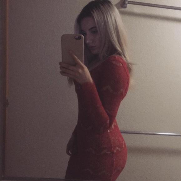 bebe Dresses & Skirts - Bebe red dress